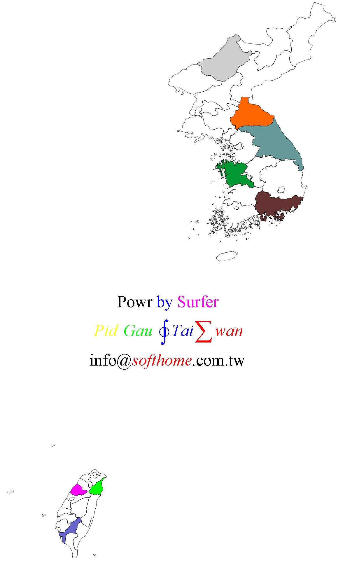 Taiwan Korea 臺灣 韓國