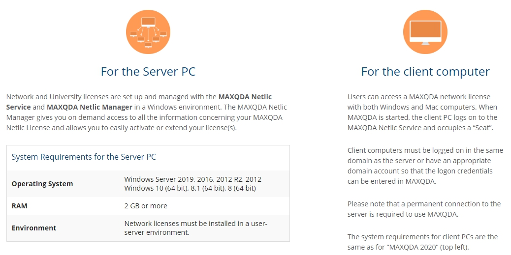 MAXQDA 2020 系統需求2