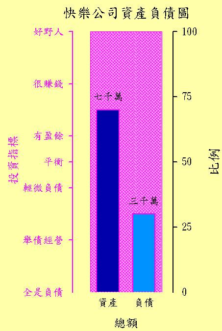 資產負債圖 柱狀圖 中文軸名 中度技巧 Bar Chart