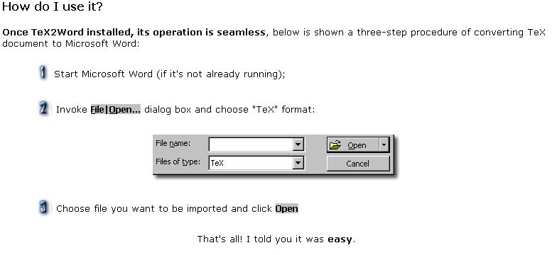 如何使用? 很簡單 只要讀入TeX檔即可