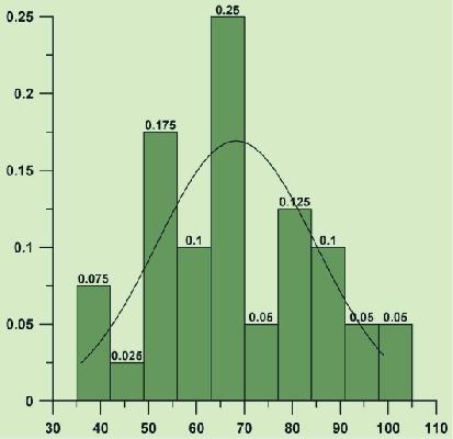 Grapher 統計直方圖