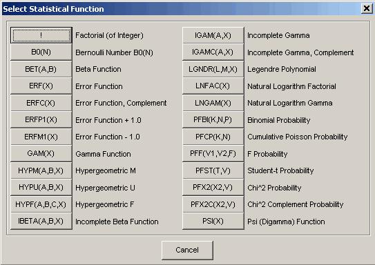 內建統計函數