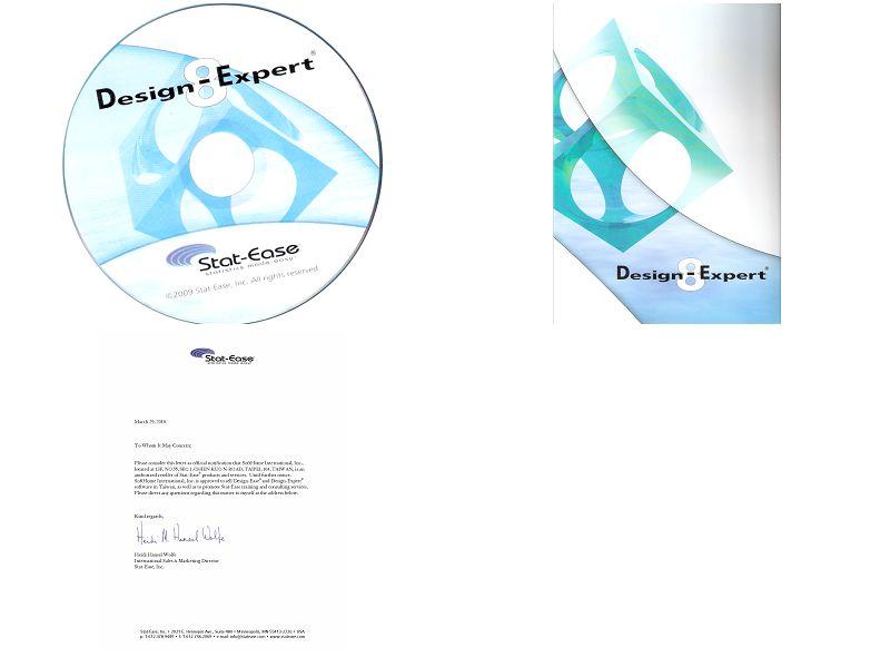 Design-Expert光碟,Design-Expert代理證明