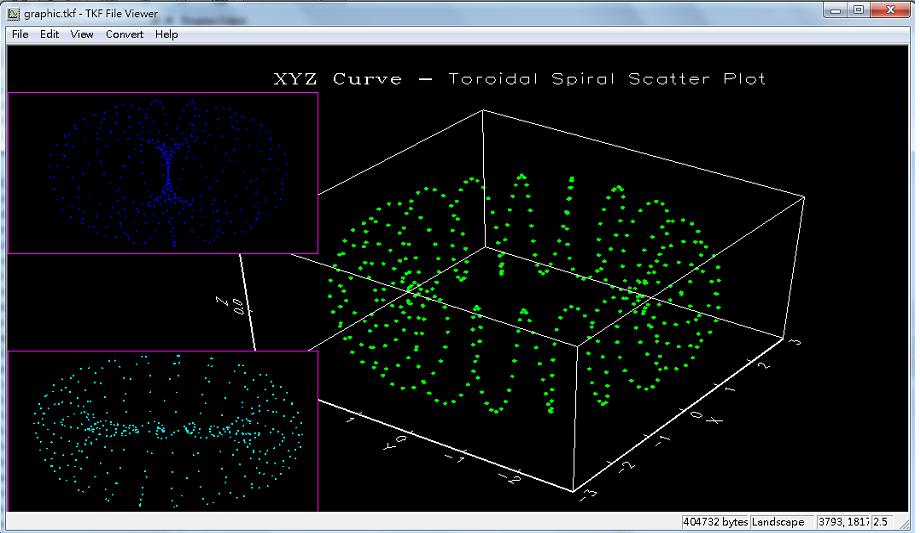 scatter3.e 有程式範例